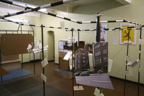 Foto kleiner Ausstellungsraum