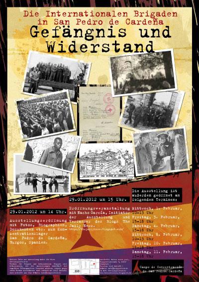 Flyer zur Ausstellung »Gefängnis und Widerstand«